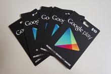 مطلوب بطاقة شحن جوجل