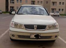 سيارة نيسان صني ياباني موديل 2008 لون ابيض نظيفه جدا السعر المطلوب 115 ورقة