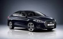 For rent a Hyundai Elantra 2018