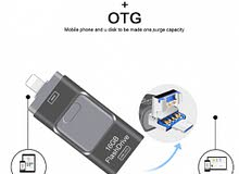 3 in one OTG flash drive 256 GB (Android/IOS/PC)