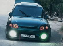 Green Hyundai Accent 1998 for sale