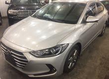 Hyundai Elantra 2017 For sale - Silver color
