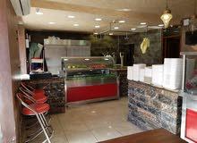 مطعم مشاوي + ملحمة في اربد للبيع بداعي السفر