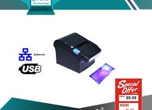نقاط بيع قارئ باركود طابعات حرارية درج كاش POS Thermal Printer Barcode scanner Cash drawer