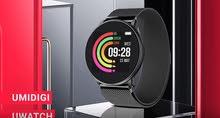 UMIDIGI Smart Watch - ساعة ذكية  من شركة UMIDIGI مع 2 احزمة سليكون و ستانلس ستيل