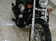 Used Kawasaki motorbike is up for sale
