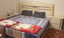 غرفة نوم  لون ابيض للبيع