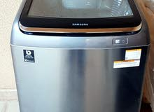 Samsung Washing Machine 16 KG (WA16J6750SP) Active Dual Wash Top loading - Silver Color