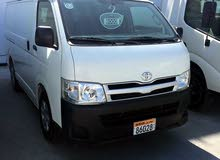 Used condition Toyota Hiace 2010 with +200,000 km mileage
