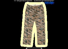 Men Camouflage Chino Trousers Pants