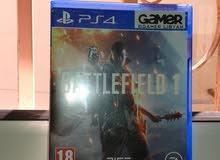 دسكتين للبيع فقط BATTLEFIELD1 ولعبة FALLOUT4