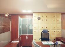 مكتب جاهز مؤثث