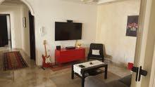شقة مفروشة للايجار 135م  بداية شارع الإذاعة من المالك مباشرة