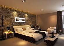 غرفة نوم ماستر وتفصيل على أفخم المواصفات متوفر لدينا جميع الألوان