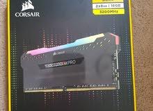 RGB Corsair Vengeance RAM 16GB 3200MHz DDR4