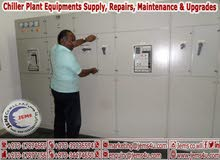 Chiller Plant Equipments Supply, Repairs, Maintenance & Upgrades