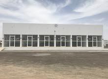 محلات للايجار في صحار حي الرفعة على الخط الاول