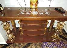 For sale Tables - Chairs - End Tables that's condition is Used - Mafraq