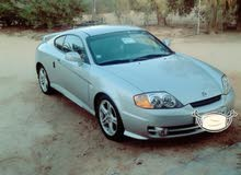 Hyundai Tuscani 2005 For sale - Silver color