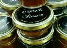 العسل الابيض وجميع انواع الكافيار