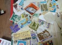 طوابع بريد عربي واجنبي