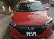 Orange Hyundai Ioniq 2018 for rent