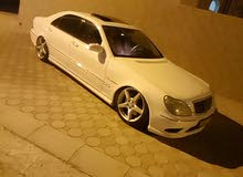 White Mercedes Benz S55 AMG 2005 for sale
