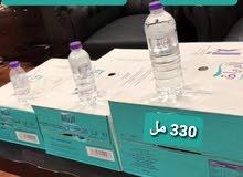 توصيل مياه للمنازل والمساجد والأماكن التجاريه يبداء سعر الكرتون ب12ريال
