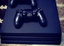 PS4 PRO+جهازين +29 لعبة