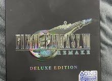 لعبة Final Fantasy 7 Remake Deluxe Edition