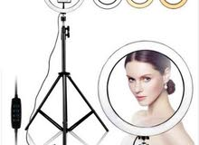 26cm Ring Fill Light with long Tripod Stand