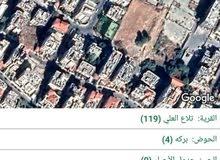 ارض للبيع في الاردن مشمسه. في عمان الغربيه