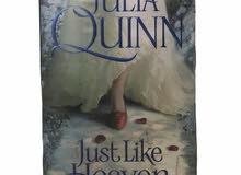 Julia Quinn (just like heaven) love story