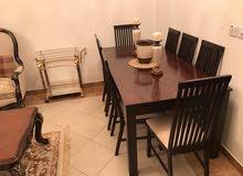 طاولة طعام فخمة 8 كراسي