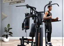 Olympia homegym 3 station multigym with boxing sit up bench pull up attached