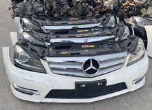 Mercedes C-CLASS W204 NOSE CUTS (NO BONNET,WING)