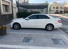 Mercedes Benz E 200 car is available for sale, the car is in  condition