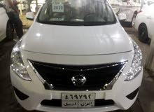 White Nissan Sunny 2019 for sale
