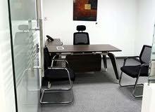 مكاتب للإيجار داخل بزنز سنتر على شارع حمدان