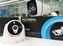 كاميرات داخلية وخارجة تصنيع خاص من شركة HD Vision بخامة ممتازة وبالسعر الجديد