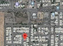 600 م2 العذيبة منطقة سكنية راقية وهادئة جداً