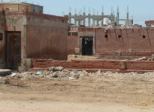 للبيع أرض منزل قديم بوسط قرية الرضوان جنوب بورسعيد