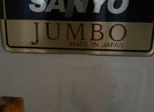 للبيع ثلاجه سانيو جامبو