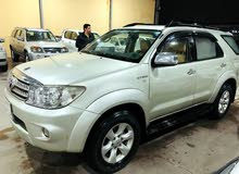 Silver Toyota Fortuner 2011 for sale
