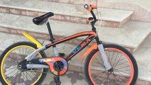 دراجه هوائيه(سيكل) بحاله جيده مستعمل اسبوع فقط قابل للتفاوض