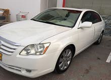 White Toyota Avalon 2007 for sale