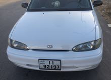 Automatic White Hyundai 1996 for sale