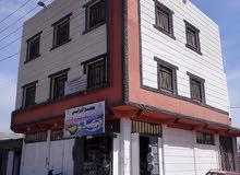 بنائه ثلاثة طوابق..منطقة حمدان الشارع الرئيسي التجاري