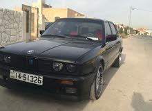 Manual Black BMW 1989 for sale