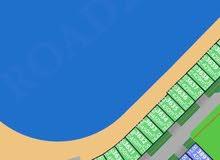 ارض للبيع  على البحر  بالخيران المرحلة الثالثة ب